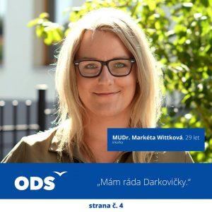 MUDr. Markéta Wittková