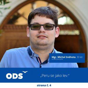 Medailone Michal Sněhota